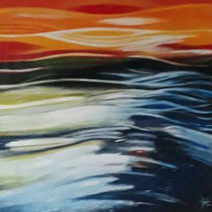 Golvende zee