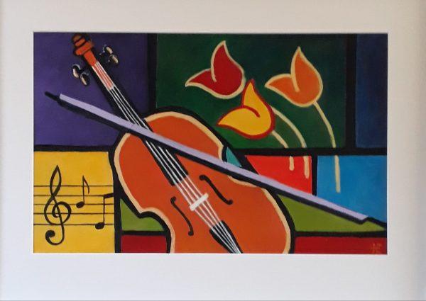 Muziek collage